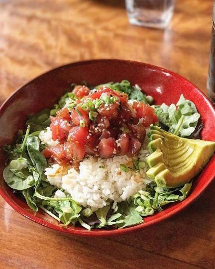 Crave American Kitchen-Sushi  La Salle Plaza